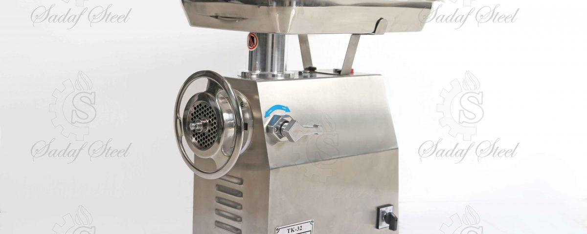 تجهیزات آشپزخانه صنعتی | چرخ گوشت گیربکسی | استیل صدف