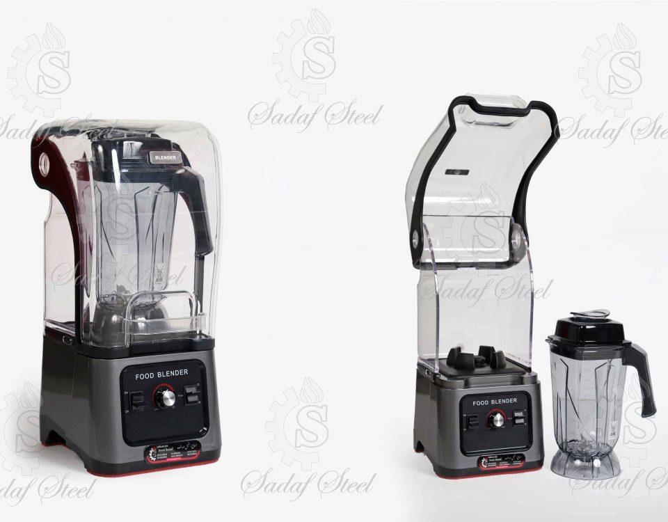 تجهیزات آشپزخانه صنعتی | مخلوط کن کاور دار | استیل صدف