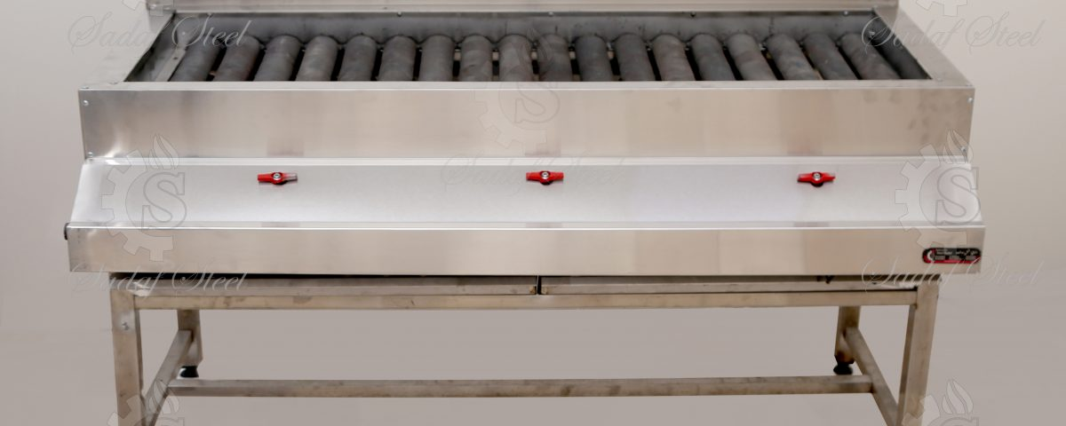 تجهیزات آشپزخانه صنعتی| کباب پز گازی | استیل صدف